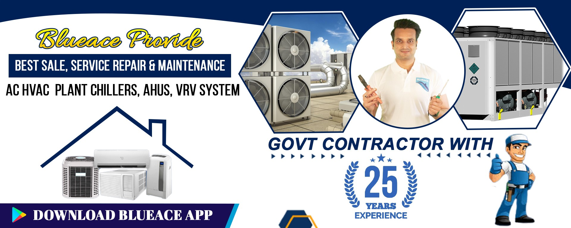 Blueace Commercial Air conditioners